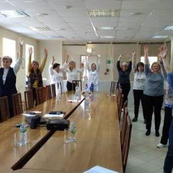 Онлайн-занятия по проекту «Будем здоровы!»