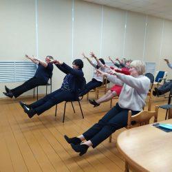 Новые группы по проекту «Будем здоровы!»
