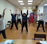 Занятия по проекту «Будем здоровы!»